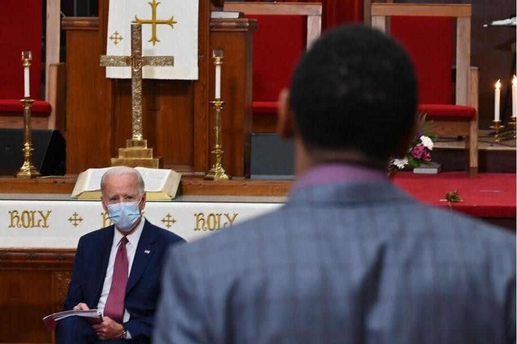 Joe Biden meets with community leaders in Wilmington, DE: ABC News